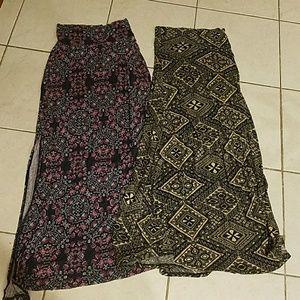 Bundle of Charlotte Russe maxi skirts